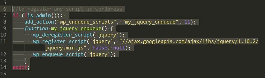 Theme function.php file of wordpress